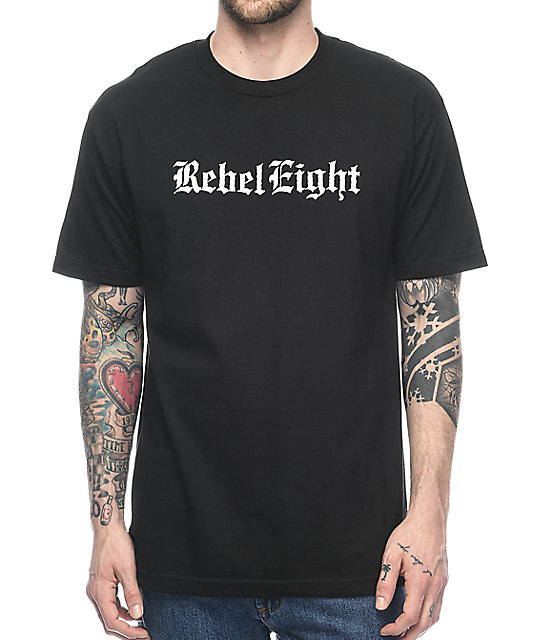 REBEL8 Hell Can't Hold Us camiseta negra
