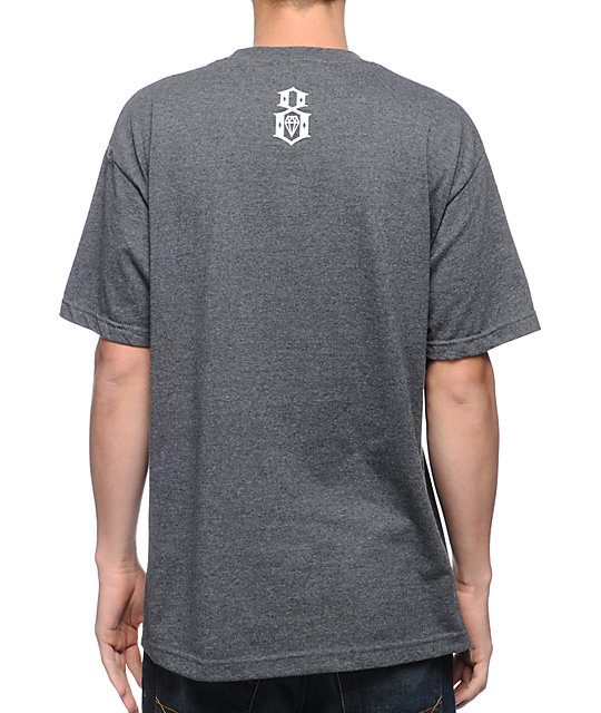REBEL8 Industry Giants Charcoal T-Shirt