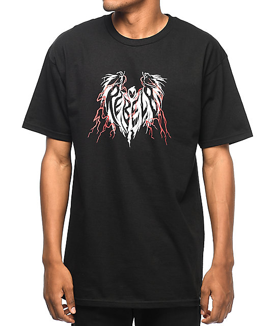 REBEL8 James Jirat Phantasm camiseta negra