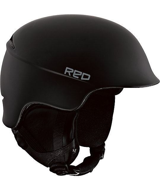 RED Theory Black Snowboard Helmet