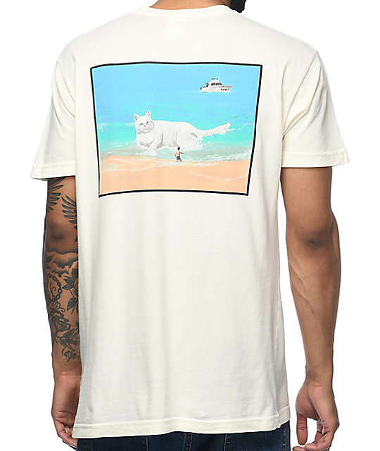 RIPNDIP Beached Nermal camiseta con bolsillo
