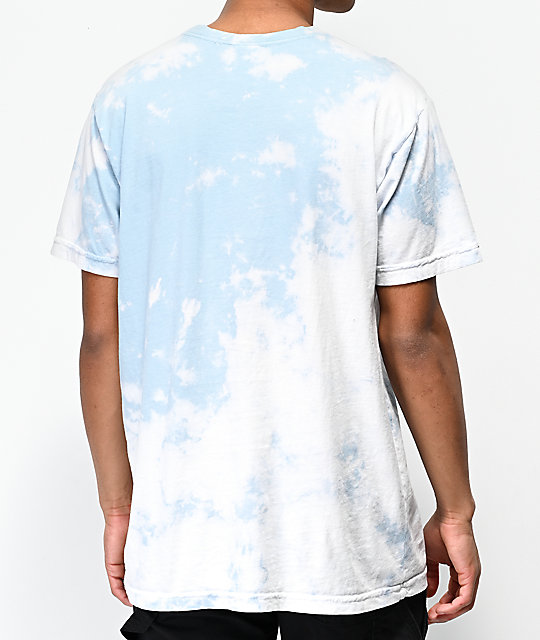 RIPNDIP Break Yo Self camiseta tie dye azul con bolsillo