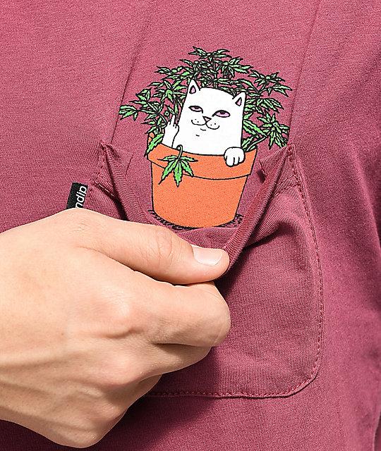 RIPNDIP Rip N Dip Women/'s Crew Neck T-shirt Men Smile Cat Tops Tee Shirt Lovers