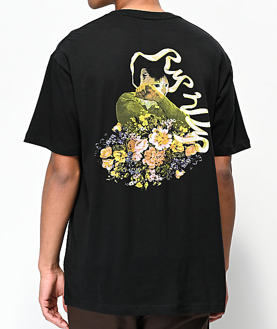 RIPNDIP Flower Burst Black T-Shirt