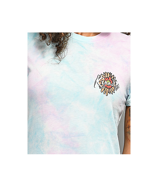 RIPNDIP Flower Eyes Tie Dye T-Shirt