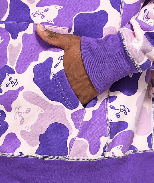 RIPNDIP Invisible Purple Camo Hoodie