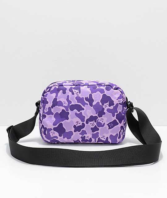 Ripndip Invisible Purple Shoulder Bag