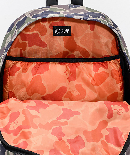 RIPNDIP Lord Jermal Army Camo Backpack