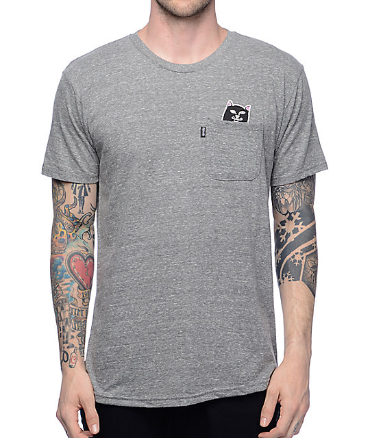 c17025a7e RIPNDIP Lord Jermal Heather Grey T-Shirt | Zumiez