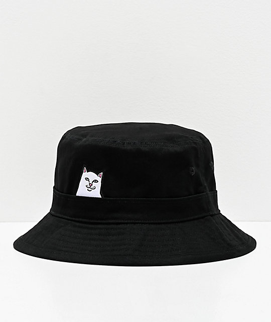 RIPNDIP Lord Nermal Black Bucket Hat