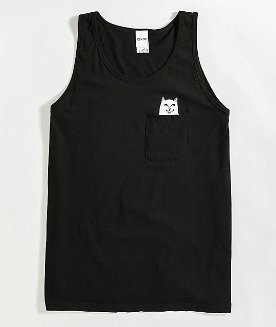 RIPNDIP Lord Nermal Black Tank Top