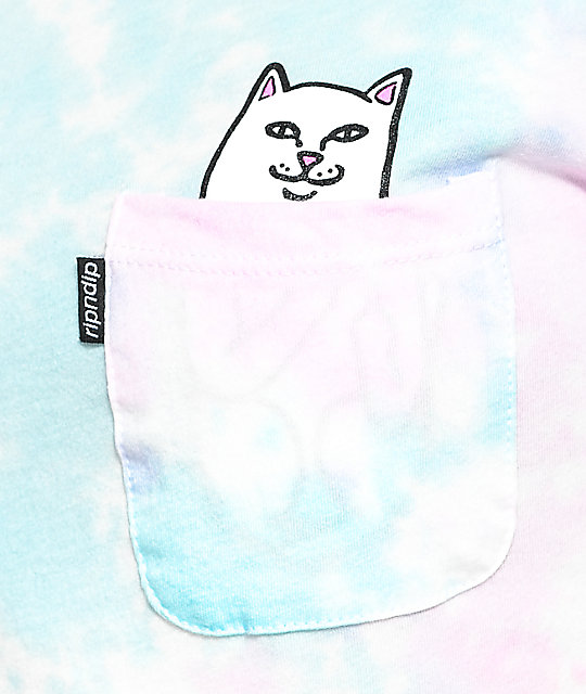 RIPNDIP Lord Nermal Cotton Candy T-Shirt