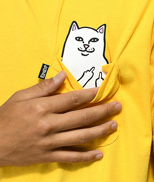 RIPNDIP Lord Nermal Gold T-Shirt