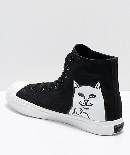 negros Hi Nermal 0bdaf y zapatos best Top cheap Lord RIPNDIP blancos HXqwBB