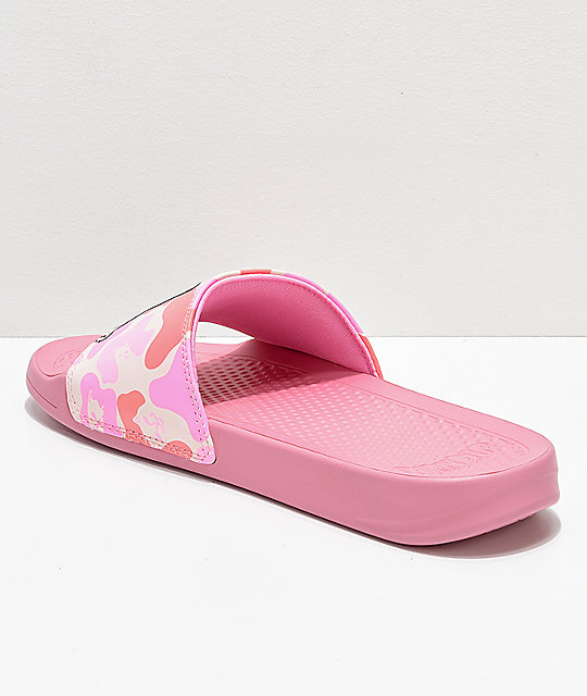 RIPNDIP Lord Nermal Pink Camo Slide Sandals