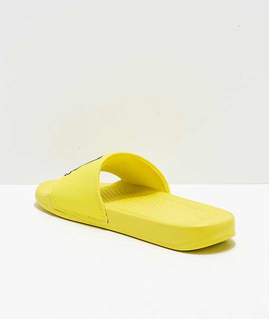 d20287a0ce42f ... RIPNDIP Lord Nermal Safety Yellow Slide Sandals ...
