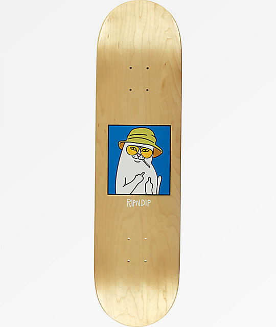 "RIPNDIP Nermal S. Thompson 8.25"" Skateboard Deck"