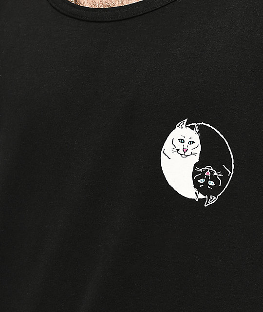 RIPNDIP Nermal Yang Black Tank Top