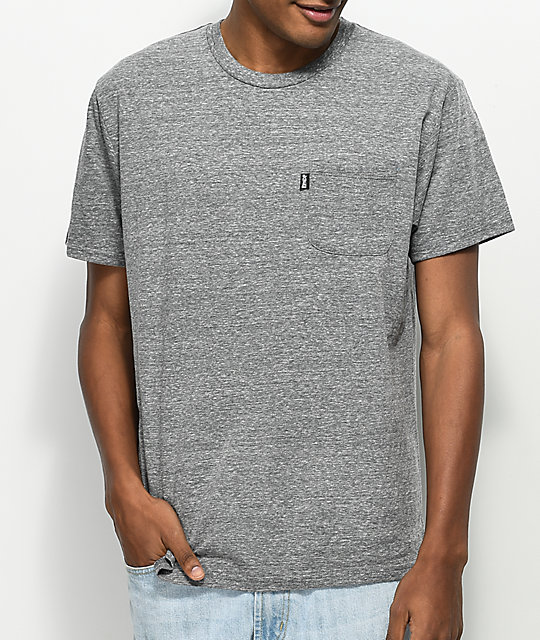 RIPNDIP Nermalisa Athletic Grey Pocket T-Shirt