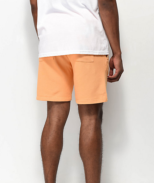 RIPNDIP Peek A Nermal Orange Sweat Shorts