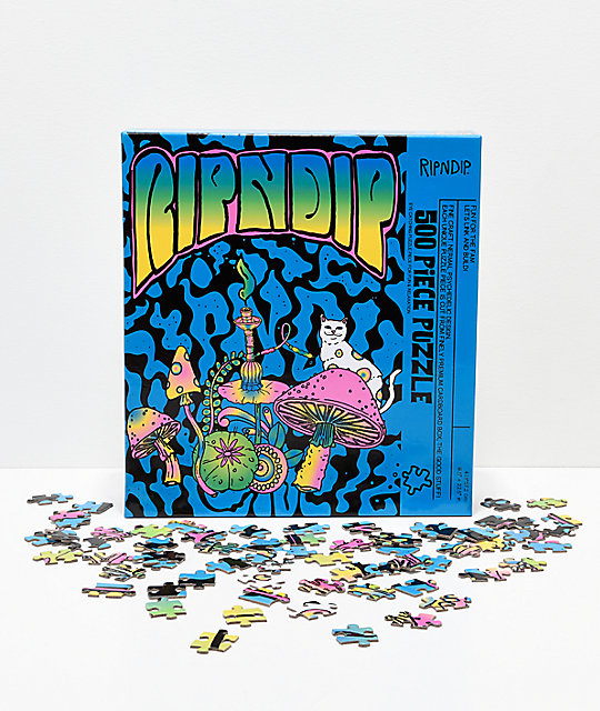 RIPNDIP Psychedelic 500-Piece Puzzle
