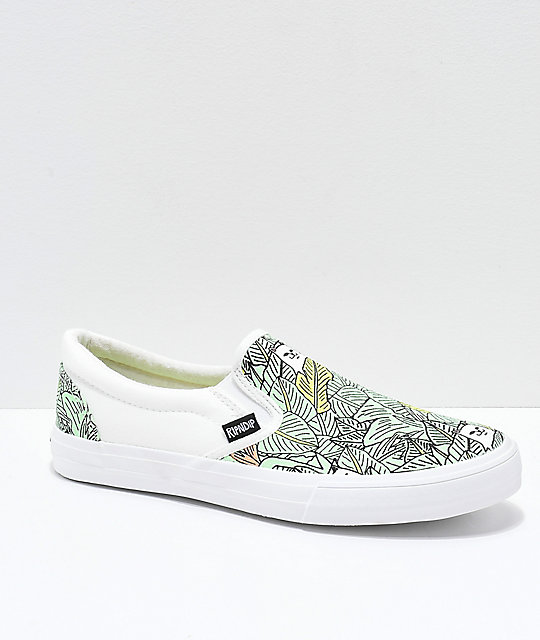 a3832c186f RIPNDIP Slip-On Nermal Leaves Shoes