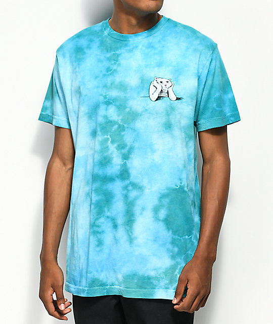 RIPNDIP Stoner Green Acid Washed T-Shirt