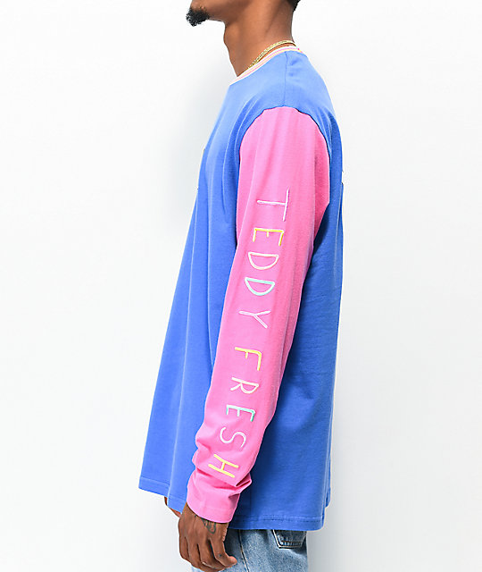 RIPNDIP x Teddy Fresh 2.0 Colorblock Long Sleeve T-Shirt
