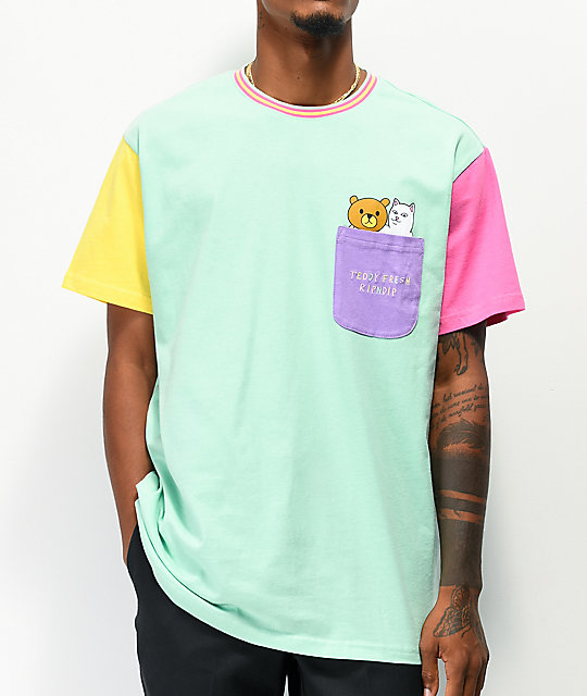 RIPNDIP x Teddy Fresh 2.0 Colorblock camiseta