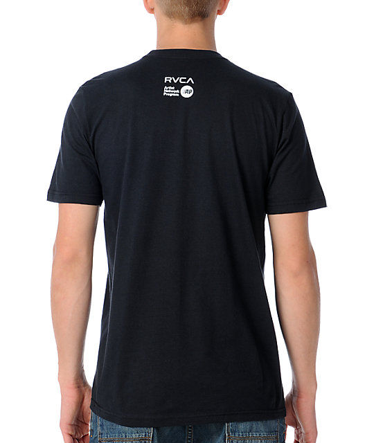 RVCA All Seeing Crest Black T-Shirt