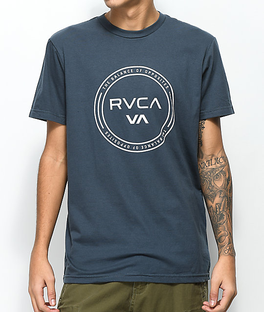RVCA Balance Hoop Midnight T-Shirt