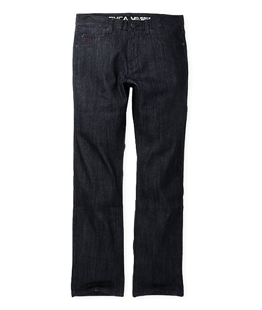 RVCA Chevy Remix Mr. Right Wash Regular Fit Jeans