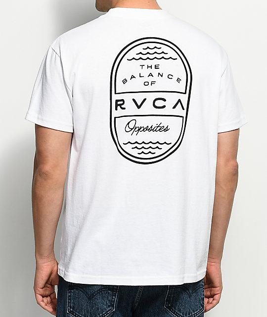 rvca day shift white t shirt zumiez