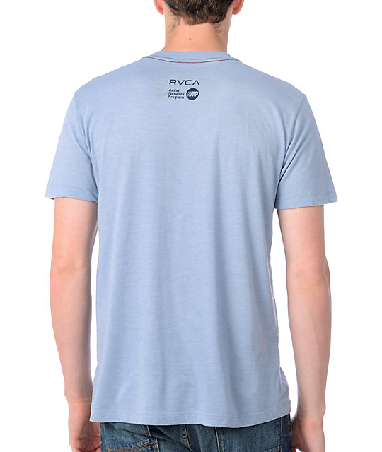 RVCA Griffin Blue T-Shirt