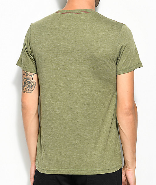 RVCA Perspective Olive T-Shirt