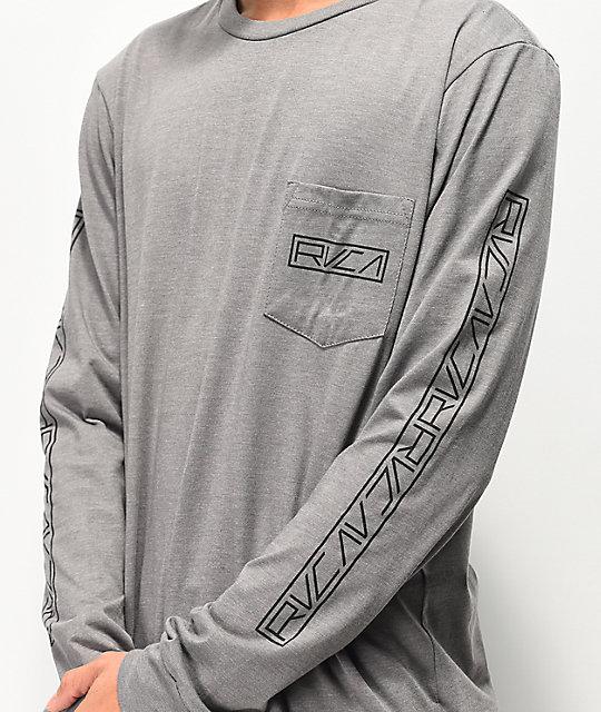 RVCA Womens Reflector Long Sleeve T-Shirt