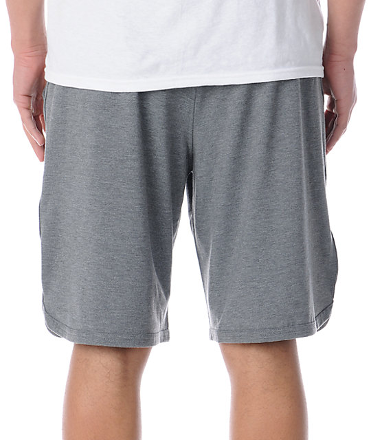 RVCA Sport Short II Heather Grey Shorts