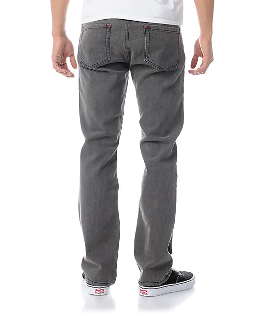 RVCA Stay Grey Wolf Regular Fit Jeans