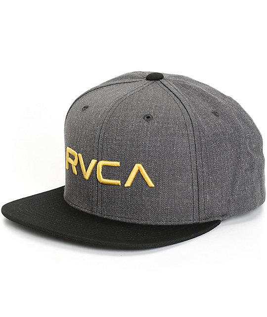 RVCA Twill Snapback Hat  0c0f5fcfb9e