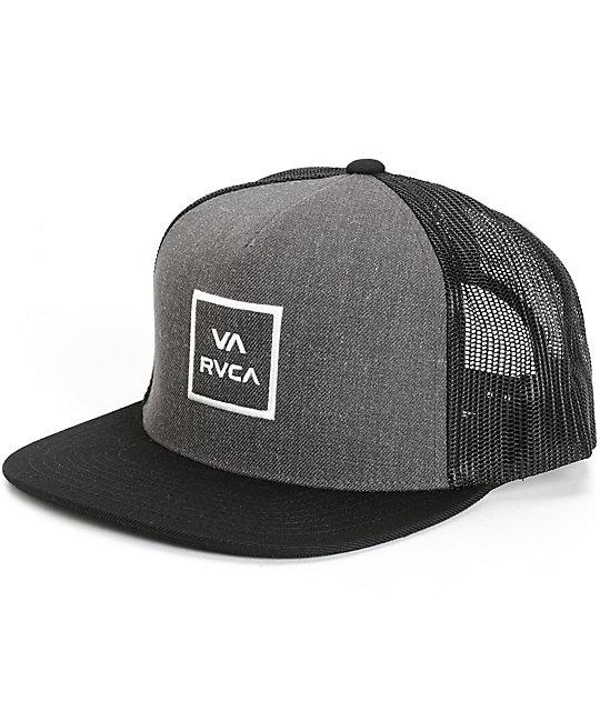 RVCA VA All The Way Trucker Hat  41691ec40d6