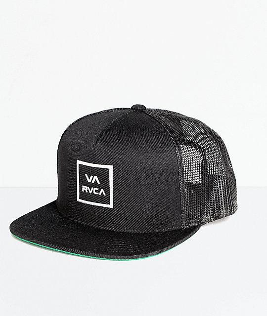 RVCA VA All The Way gorra trucker en negro ... 1b83d27ba18
