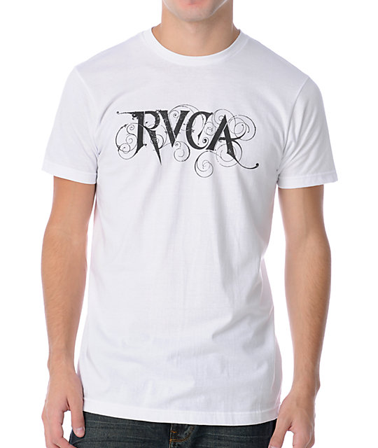 RVCA Viney White T-Shirt