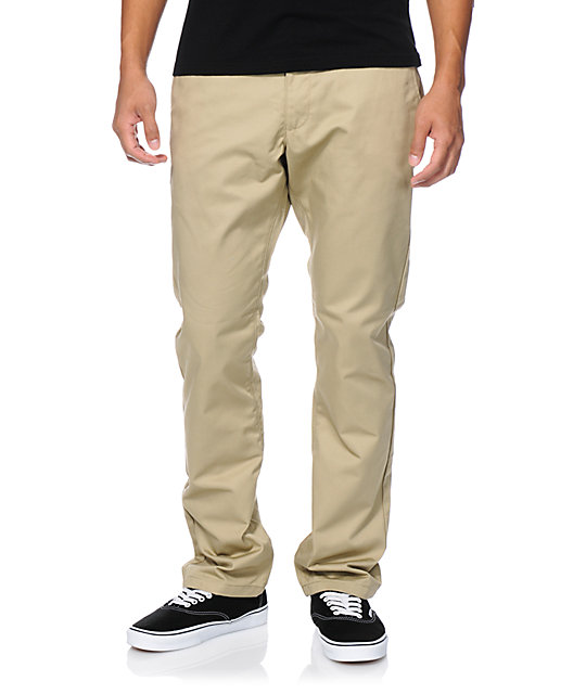 RVCA Week-End Khaki Slim Fit Chino Pants
