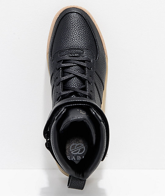 Radii Apex Pebble Leather & Gum Shoes