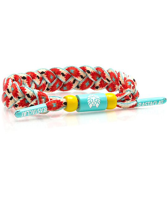 Rastaclat Classic Chella Orange & Green Bracelet