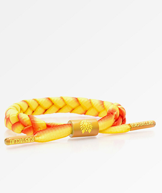 Rastaclat Classic Soul Shine Yellow & Orange Bracelet