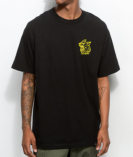RawDogRaw Bite Black T-Shirt