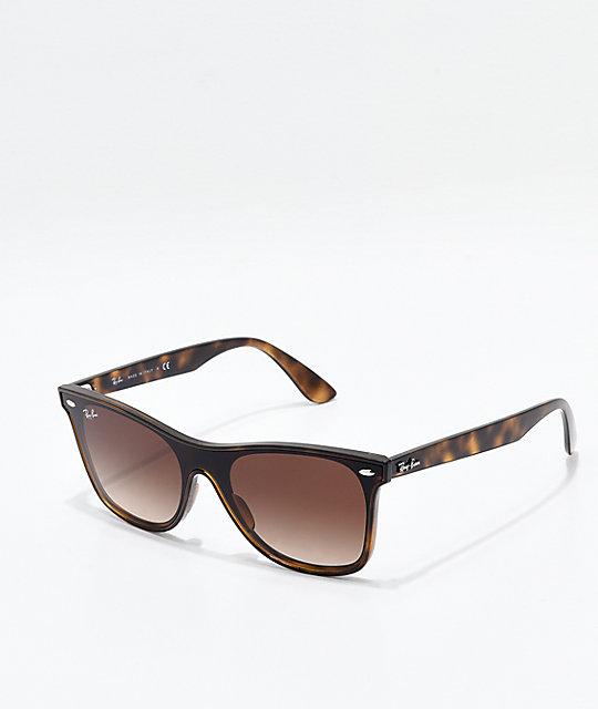 66e49b3148 Ray Ban Wayfarer Polarized Tortoise Sunglasses - Best Glasses ...