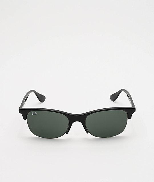 última venta mejor mayorista comprar Ray-Ban Clubmaster gafas de sol en negro y verde para niños