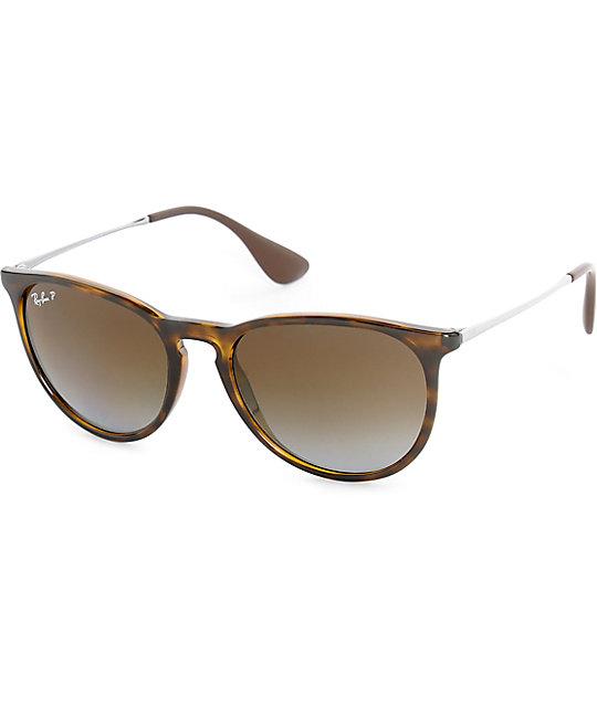44644504a3caf Ray-Ban Erika Havana Tortoise Polarized Sunglasses